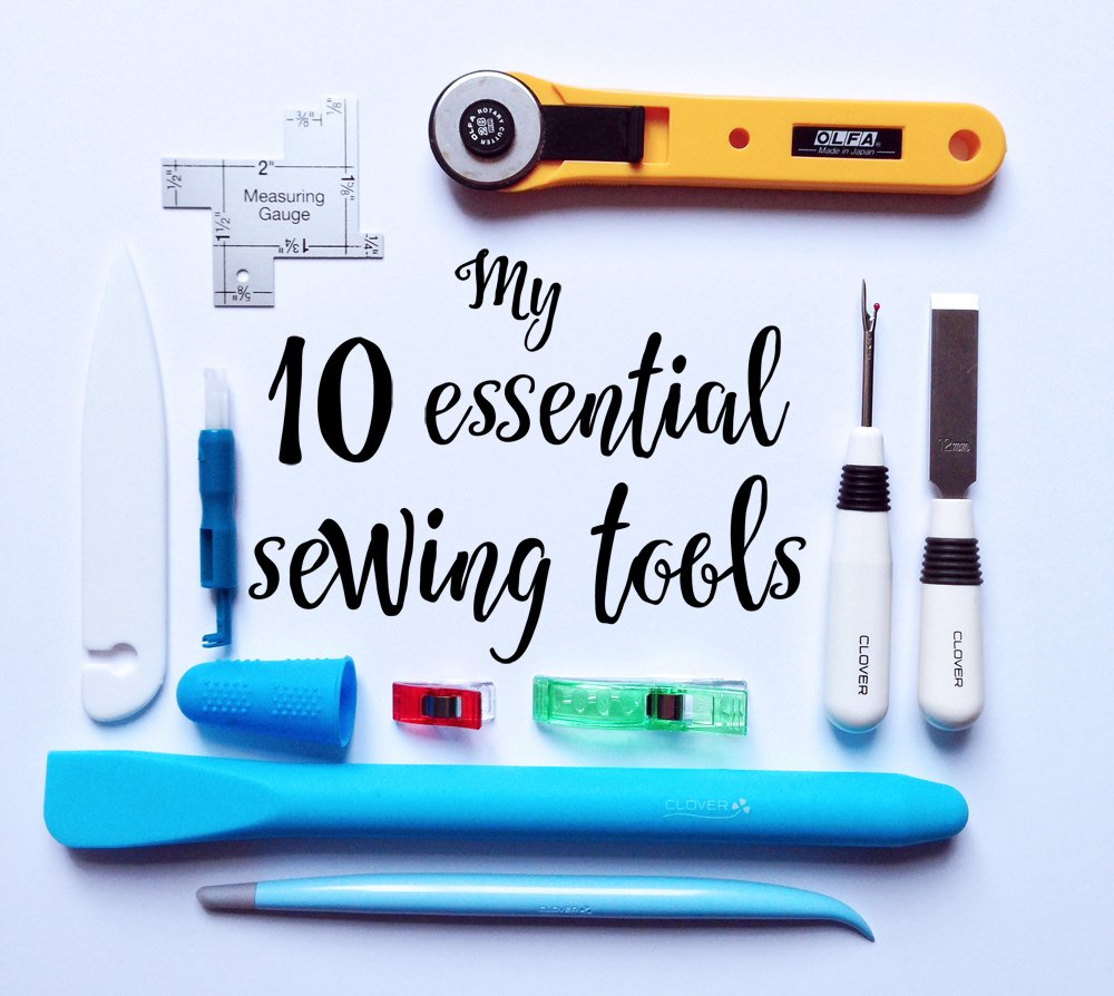 10 essential sewing tools
