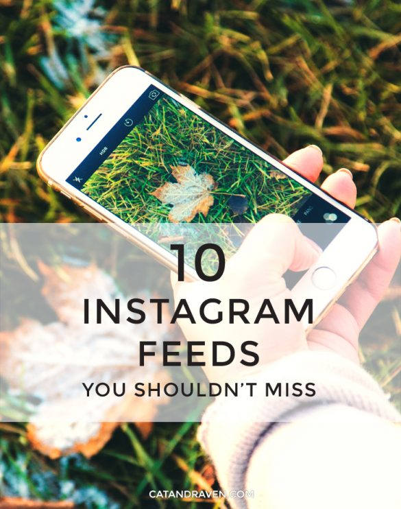 10 Instagram Feeds You Shouldn't Miss