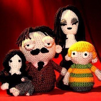 The Addams Family Amigurumi