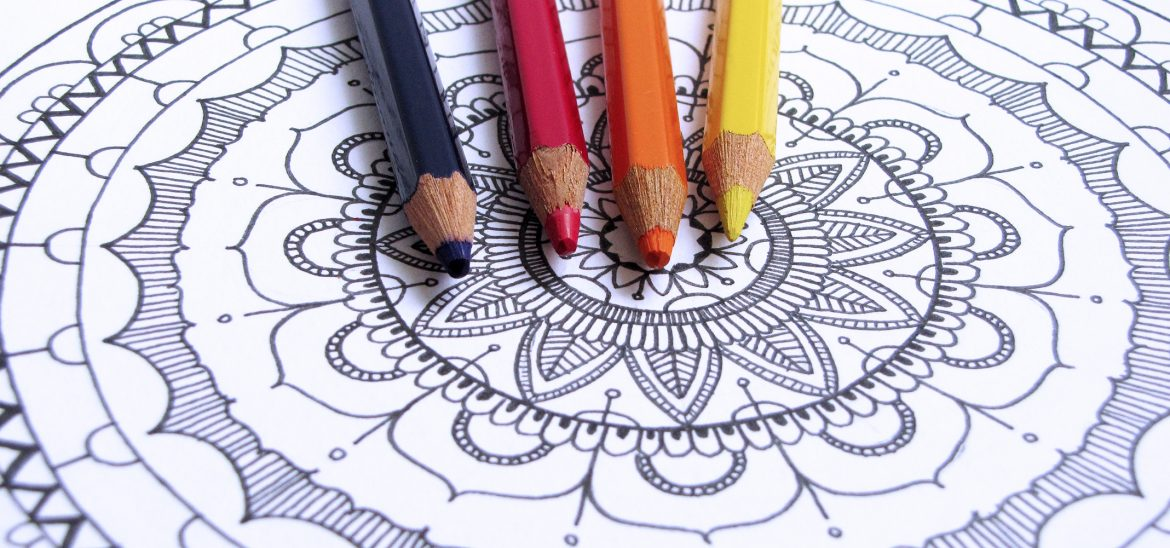 Mandala Coloring Page by catandraven