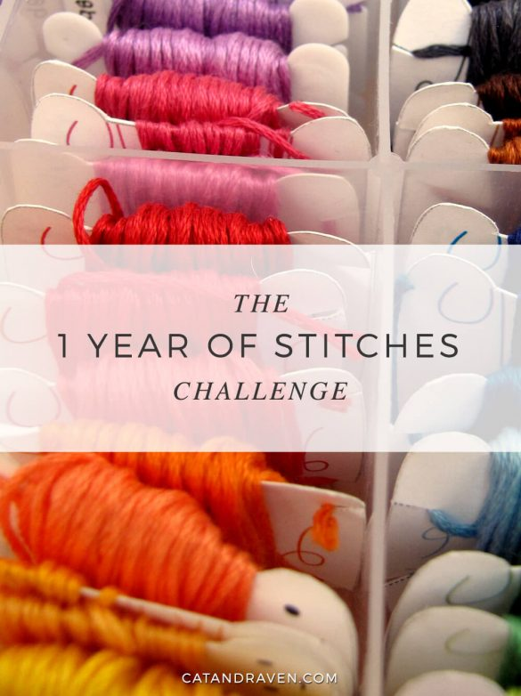 The 1 Year of Stitches Challenge 3