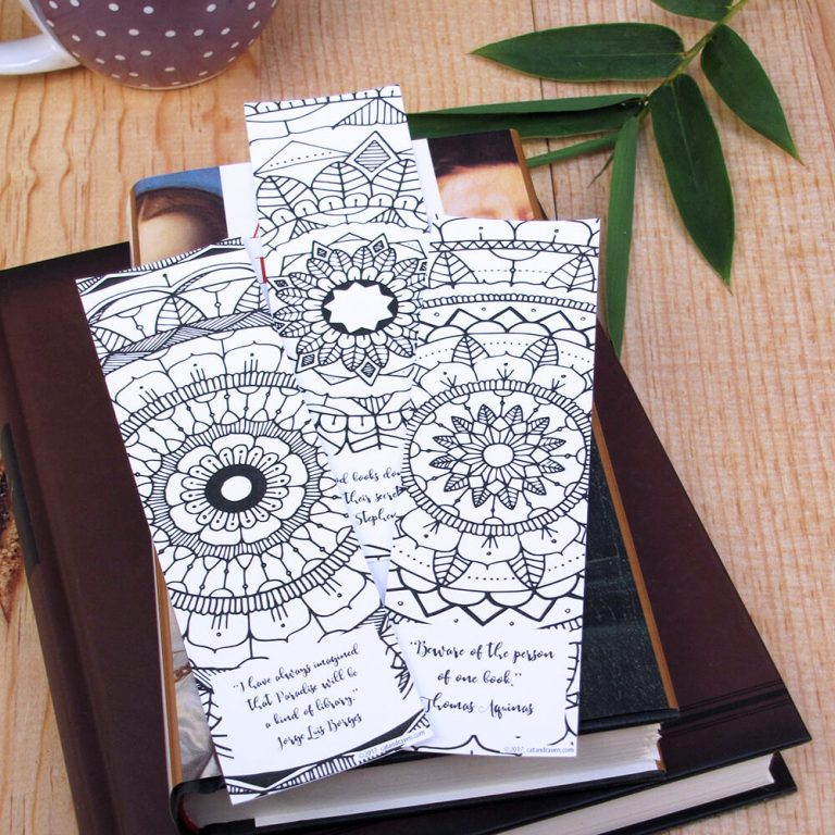 Mandala Bookmarks