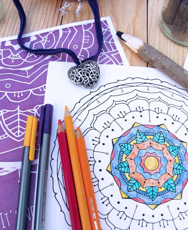 Mandala Coloring Book, Vol. 1