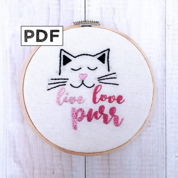 Live, Love, Purr PDF Pattern