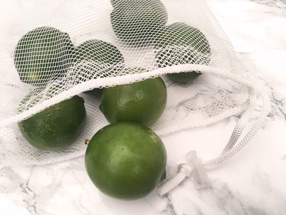 How To Quickly Make a Reusable Produce Bag