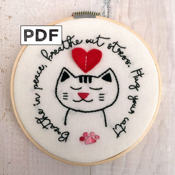 Hug Your Cat PDF Pattern