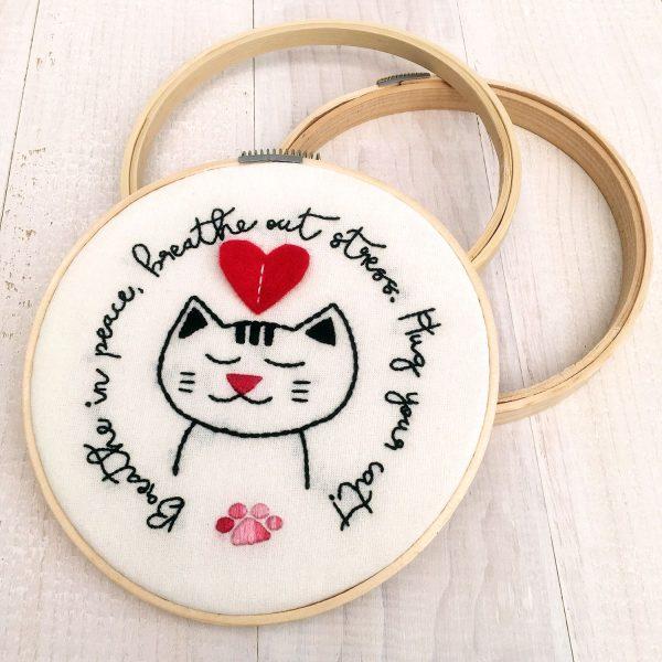 Hug Your Cat PDF Pattern
