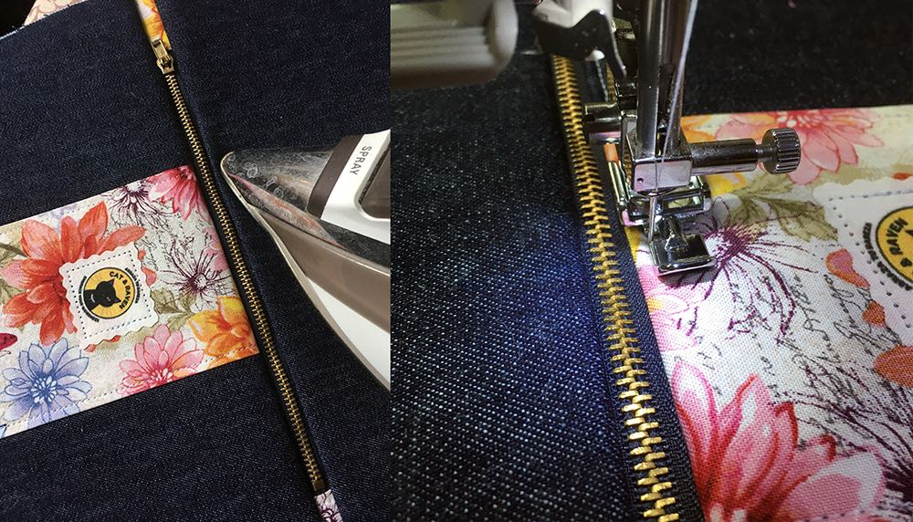 Iron and topstitch