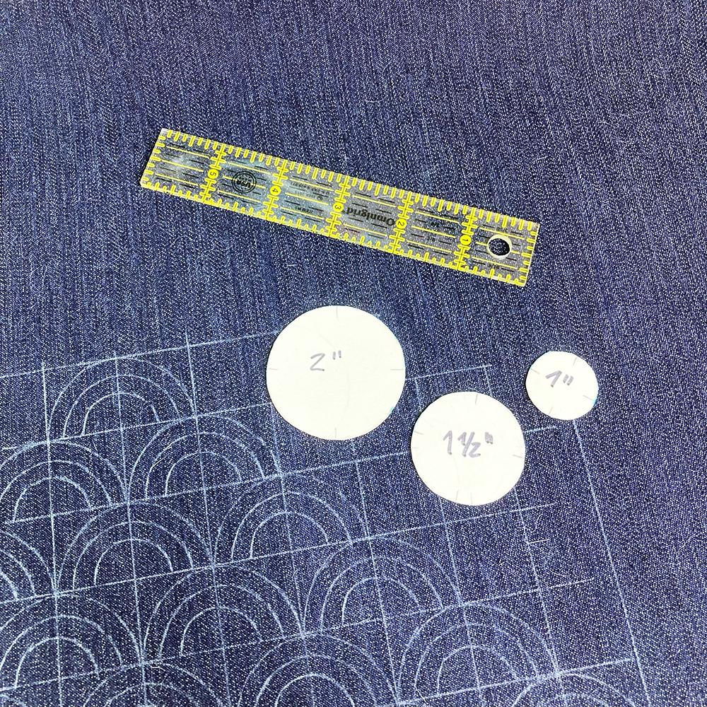 Tracing Sashiko Pattern